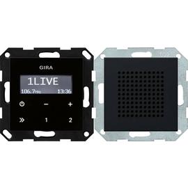 2280005 Gira UP Radio RDS Lautsprecher System 55 Schwarz m Produktbild