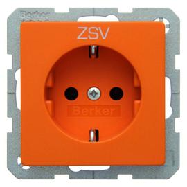 47436007 Berker BERKER Q.x SSD mit Aufdruck ZSV orange samt Produktbild