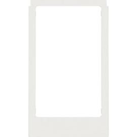 13201909 Berker BERKER S.1 Designrahmen für Elcom Video polarweiß matt Produktbild