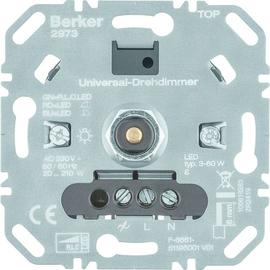 2973 Berker BERKER Universal Drehdimmer 210 W LED 60 W Up Produktbild