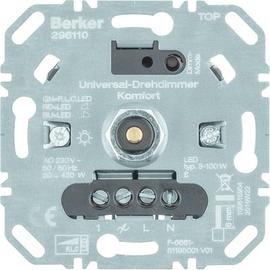 296110 Berker BERKER Universal Drehdimmer 420 W LED 100 W Produktbild