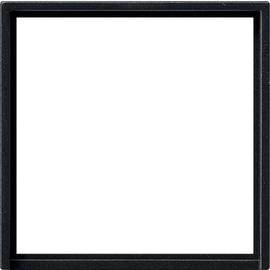 0282005 Gira Adapterrahmen quadr. 50 x 50 mm System 55 Schwarz m Produktbild