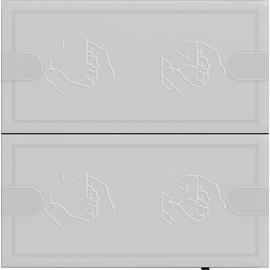 5002028 Gira KNX Tastsensor 4 Komfort TS4 Anthrazit 2-fach Produktbild