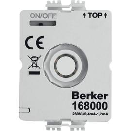 168000 Berker BERKER LED Modul Drehschalter mit N-Leiter Produktbild