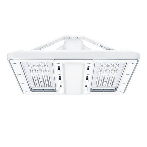 42187189 Zumtobel CR2PL M10k 840 PC WB EVG WH LED Hallenleuchte Produktbild Front View L