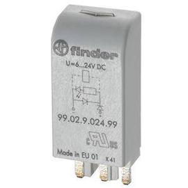 99.02.9.024.99 Finder Freilaufdiode 6-24VDC mit LED Produktbild