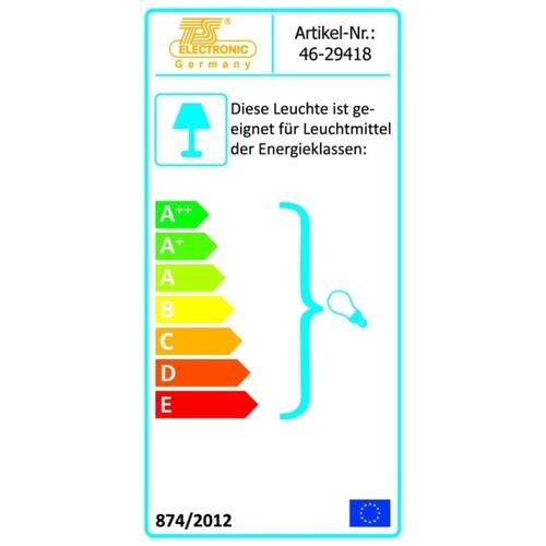 46-29418 Tele-Sound Gartenstrahler GU10 mit Erdspieß edelst.2,5m Zuleitung IP68 Produktbild Additional View 1 L