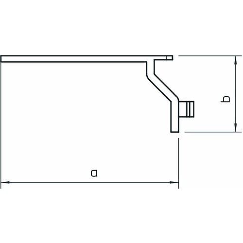 6178092 Obo Drahthaltesteg für Verdrahtungskanäle LK4 und LK4/N Produktbild Additional View 1 L
