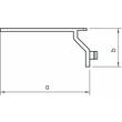 6178650 Obo LKV H H Drahthaltesteg für LKV/H  Polystyrol  lichtgrau 7035 Produktbild Additional View 1 S