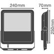 4058075097681 Ledvance FLOOD LED 90W/4000K BK 100DEG IP65 Produktbild Additional View 2 S