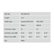 DK-2933-02 Digitus LWL Duplexkabel LCLC 2m OS2 9/125µ Produktbild Additional View 4 S