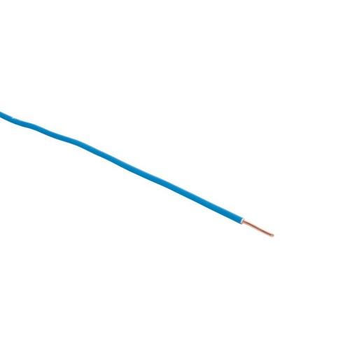 H07V-U YE 2,5 blau 200m Spule PVC-Aderleitung Produktbild Front View L