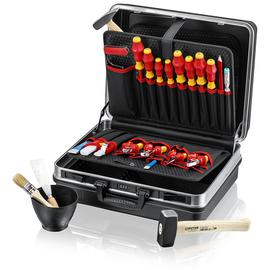 002105HLS KNIPEX HARTSCHALEN-WERKZEUG- KOFFER MIT 24 WERKZEUGEN Produktbild