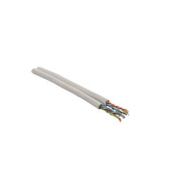 CAT5+ DUPLEX UC300D HS24 2X4P Messlänge halogenfrei grau SFTP FOLIE+GEFL. Produktbild