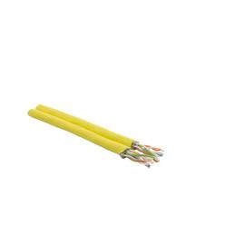 Cat7A 1000 MHz DX S/FTP 2X(4X2XAWG23) halogenfrei DUPLEX gelb Messlänge Produktbild