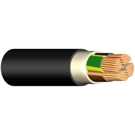 E-YY-J 5X16 RM schwarz 50m Trommel Erdkabel verdichtete Leiter Produktbild