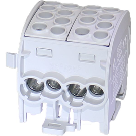 92006595 E-TERM Hauptleitungsklemme ZK 35/1 Al/Cu 1x8 grau, fingersicher Produktbild