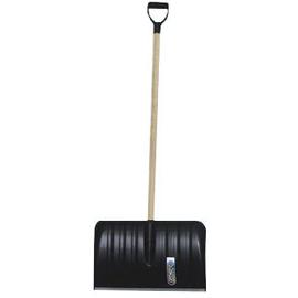 KSCH10 Offner Schneeschieber Kunststoff Alu-Kante, 120cm Holzstiel, D-Griff Produktbild
