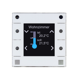 ZC300 Comexio IP-Raumcontroller POE, LSA, 55x55mm, Reinweiß Produktbild