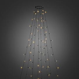 6322-810 KonstSmide LED Baummantel + Ring 8Stränge a` 70Dioden Glimmerefekt Produktbild