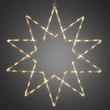 4482-103 KonstSmide LED Acryl Stern 10 Zacken, 40 warm weiße Dioden Produktbild
