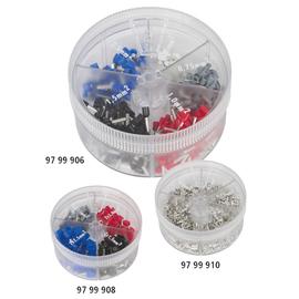 97 99 906 Knipex Sortimentsbox 1 mit isolierten Aderendhülsen Produktbild