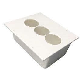 BED250 Tefact Betoneinbaudose zum Einbau in Stahlbetondecken und Wände Produktbild