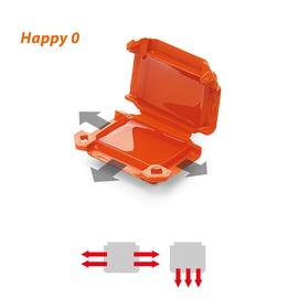120 608 509 Raytech Happy 0 GelBox f. Wago-Steckklemmen (Pkg= 4Stk) 3-pol. Produktbild