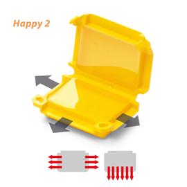 120 608 529 Raytech Happy 2 GelBox für Wago-Steckkl.  (Pkg.=1Stk.) 6-pol. Produktbild