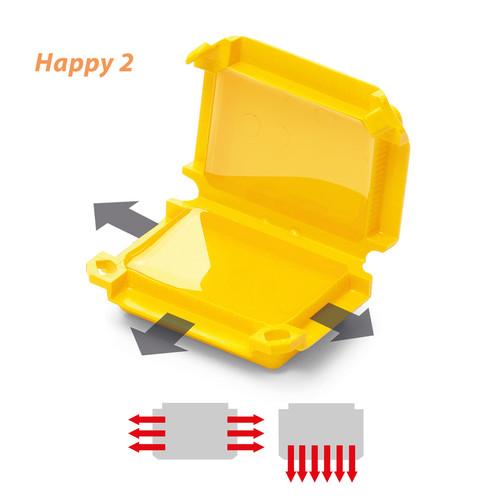 120 608 529 Raytech Happy 2 GelBox für Wago-Steckkl.  (Pkg.=1Stk.) 6-pol. Produktbild Front View L