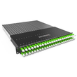 P60STPXC6XX24G Patchbox Plus+ STP grün Netzwerk Kabelmanagement Produktbild