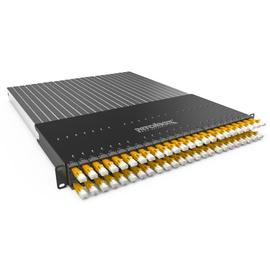 P60STPXC6XX24Y Patchbox Plus+ STP gelb Netzwerk Kabelmanagement Produktbild