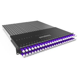 P60STPXC6XX24V Patchbox Plus+STP violett Netzwerk Kabelmanagement Produktbild