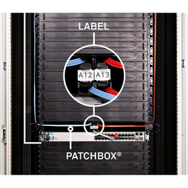 IDLABELW Patchbox Identification Label 96 Stk. Produktbild