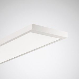 7142940 Trilux 2350 LED-Anbauleuchte 54W 6000lm IP20 840 1524x305x61 weiß Produktbild