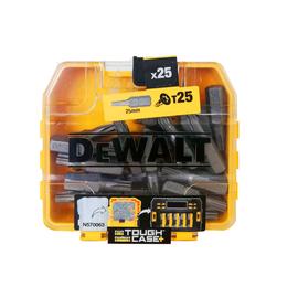 DT7962 DeWalt Bitbox Torx T25 Bitlänge: 25mm (Box=25 Bits) Produktbild