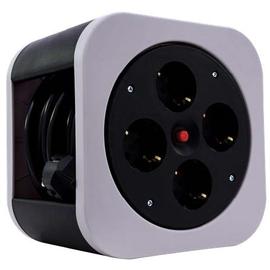 0010012800 REV Kabelbox S grau 4 Schuko 10m Thermoschalter Produktbild