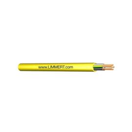 N07V3V3-F 5G4 gelb PVC-Baustellenleitung mit Aufdruck: Produktbild