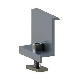 15791 ALUMERO 802304-40V Abschlussklemme für Rahmenhöhe 40mm Produktbild