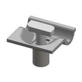 16710 ALUMERO 802603 Drahtklemme für Erdung 8-10mm Runddraht (OBO) Produktbild