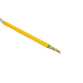 Cat5e DATA LINE 200MHz 4X2XAWG24 gelb SF/UTP FRNC LIMMERT-CABLE  500m Trommel Produktbild