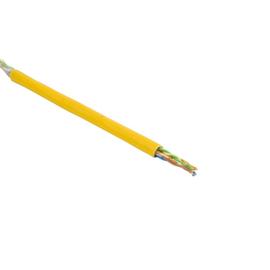 Cat5e DATA LINE 200MHz 4X2XAWG24 gelb SF/UTP FRNC LIMMERT-CABLE  100m Ring Produktbild