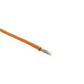 Cat7A DATA LINE 1000MHz 4X2XAWG23 orange S/FTP FRNC LIMMERT-CABLE  300m Trommel Produktbild
