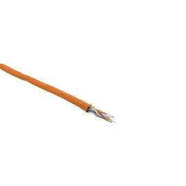 Cat7A DATA LINE1000MHz 4X2XAWG23 orange S/FTP FRNC LIMMERT-CABLE  Messlänge Produktbild