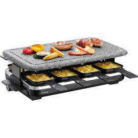 7558 4212 Trisa Raclette  Hot Stone 8er 1200W abnehmb. Steinplatte Produktbild