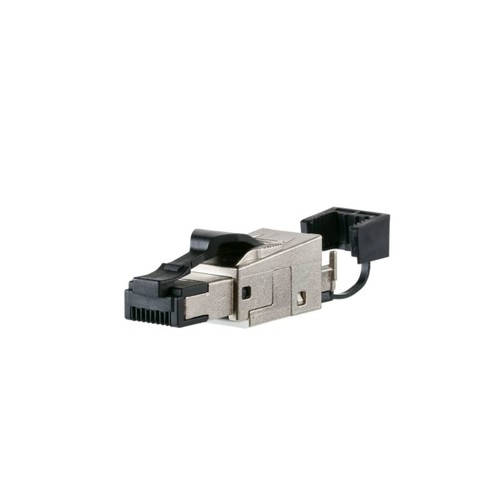 130E405032-E Metz Connect CAT.6A Stecker RJ45 Feldkonfektionierbar Werkzeuglos Produktbild