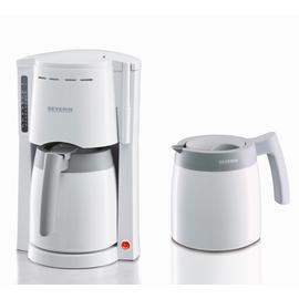 923300 Severin KA9233 Filterkaffee- maschine  weiß  2 Thermoskannen Produktbild