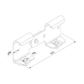 10058 Trayco CL60-VH-PG Gelenkverbinder Produktbild