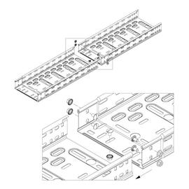 10140 Trayco CTI60-200-10-3PG Kabelrinne klipsbar Produktbild