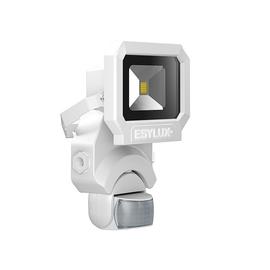 EL10810077 Esylux AFL SUN LED 10W 5K WH Fluter mit Bewegungsmelder 900lm Produktbild